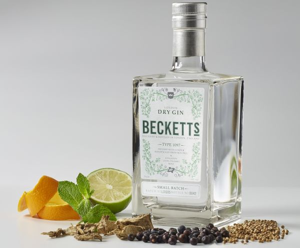 Telegraph Declares Beckett's one of 'the Best Gins That You Might Not Know About'