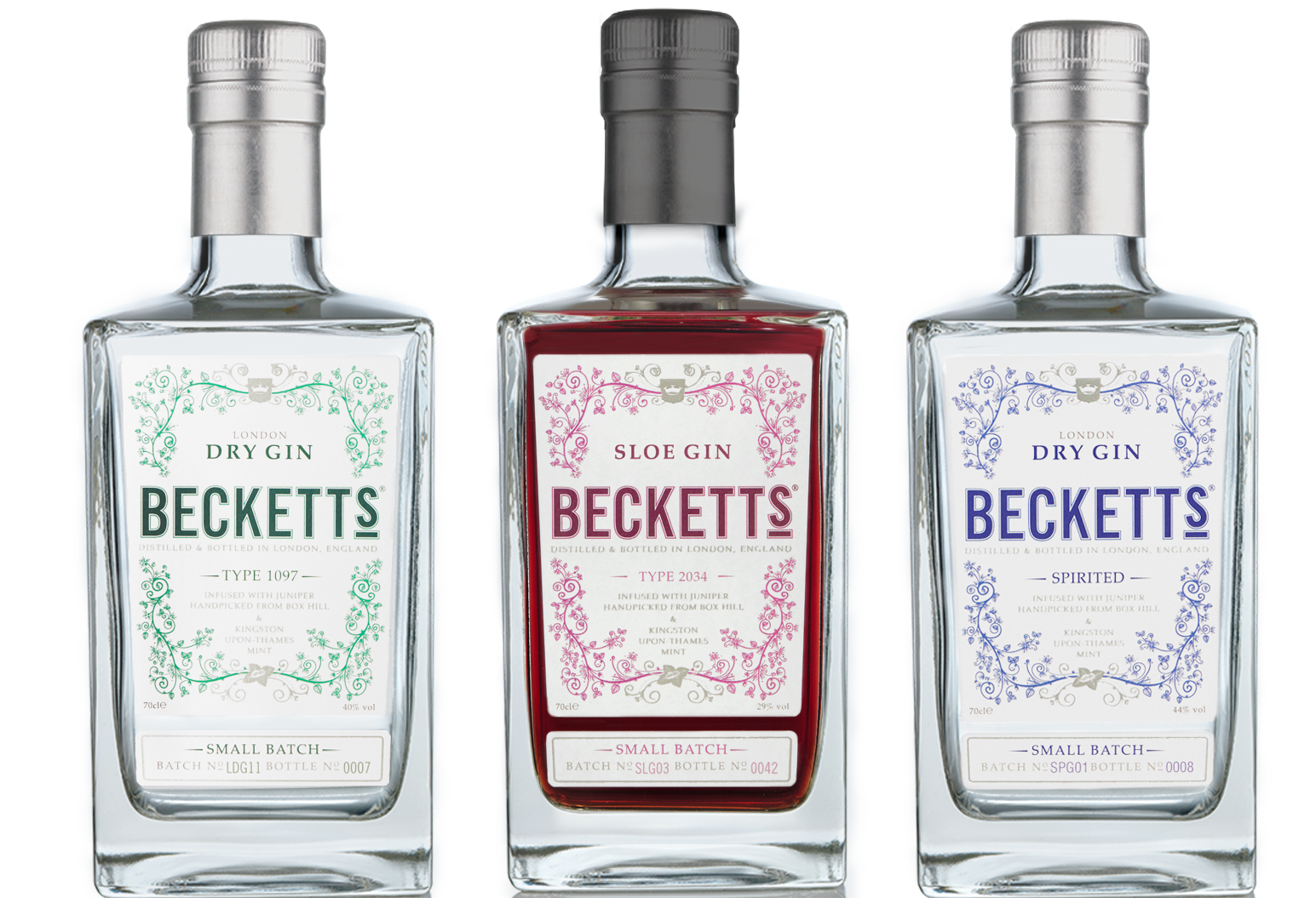 Beckett's London Dry Gin
